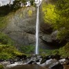 Latourell Falls Panorama
