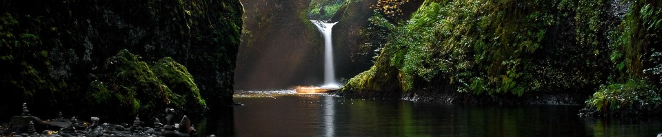 Sunkissed Punchbowl Falls